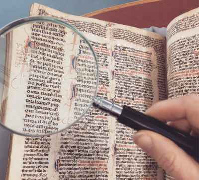antique book hand knowledge