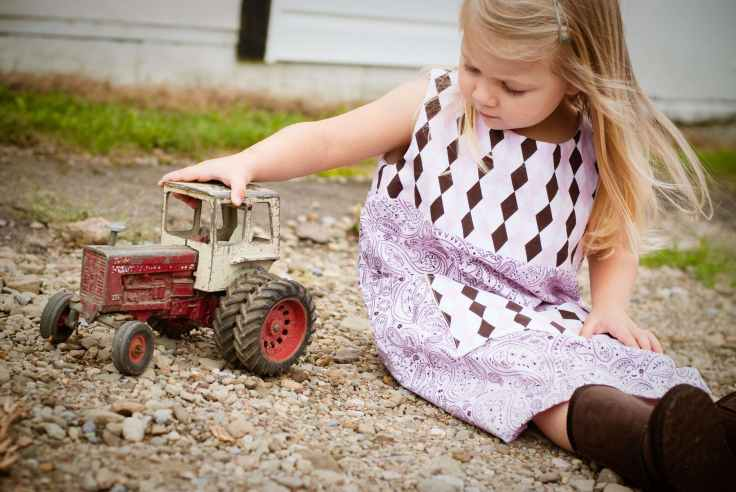 child girl grass innocence