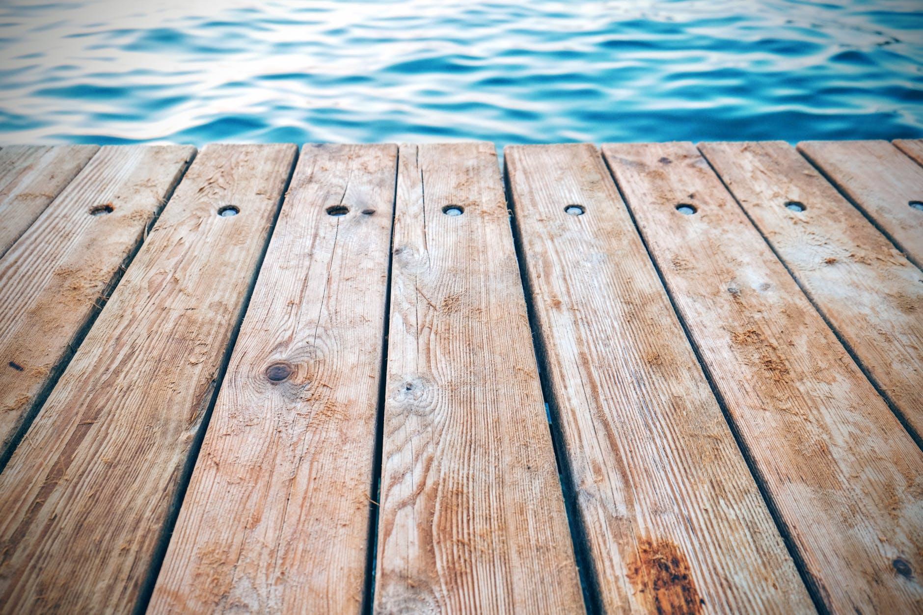 board deck dock floor