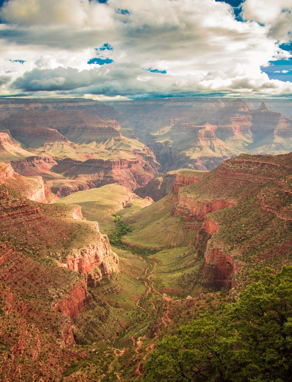 bryce canyon canyon clouds dawn