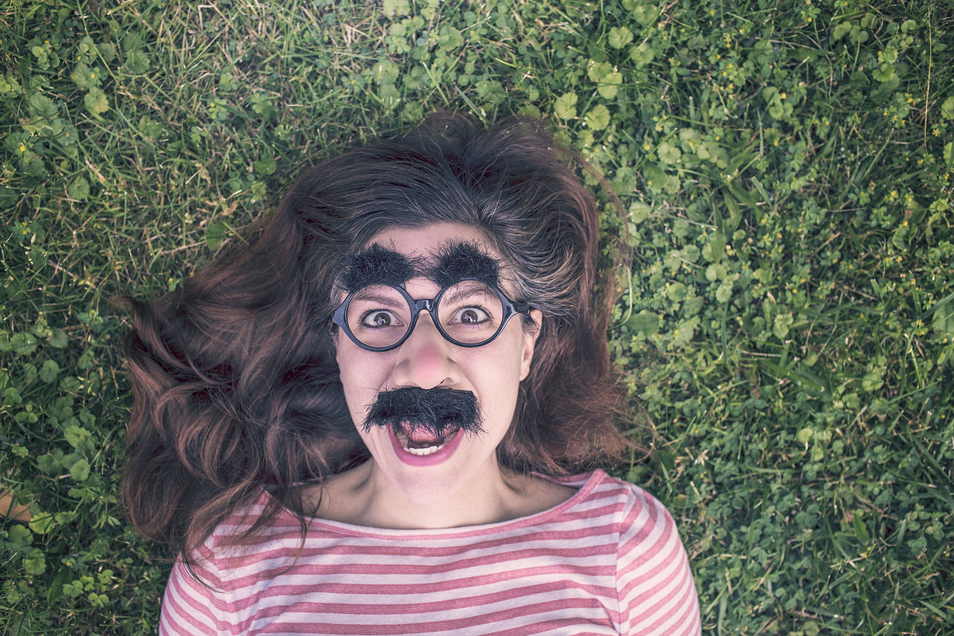 man person woman face