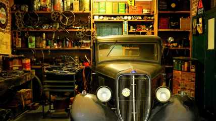 automobile car car repair classic